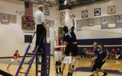 Volleyball Action at West