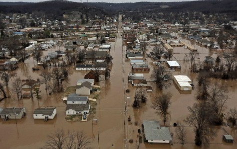 December floods causing global warming questions