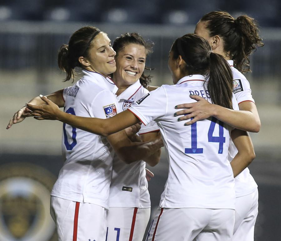 Women's CONCACAF semifinals: Mexico vs. USA