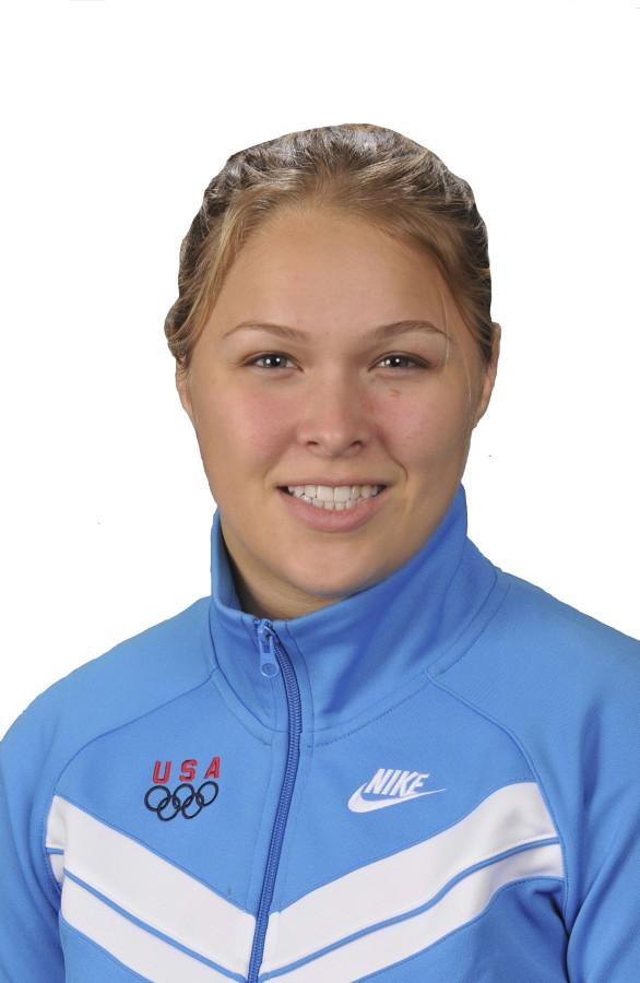 Ronda Rousey is a member of the 2008 U.S. Judo team. (USOC/MCT)