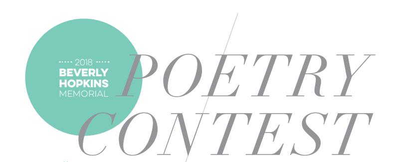 Poetry Contest