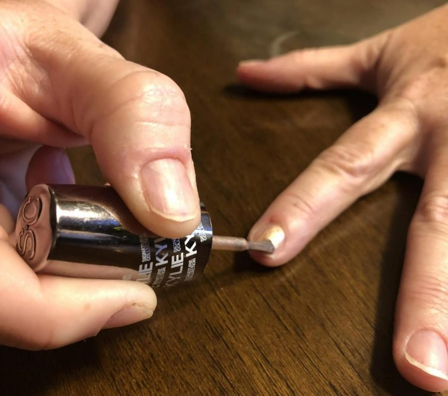 Taking care of nails is an important part of daily routine.