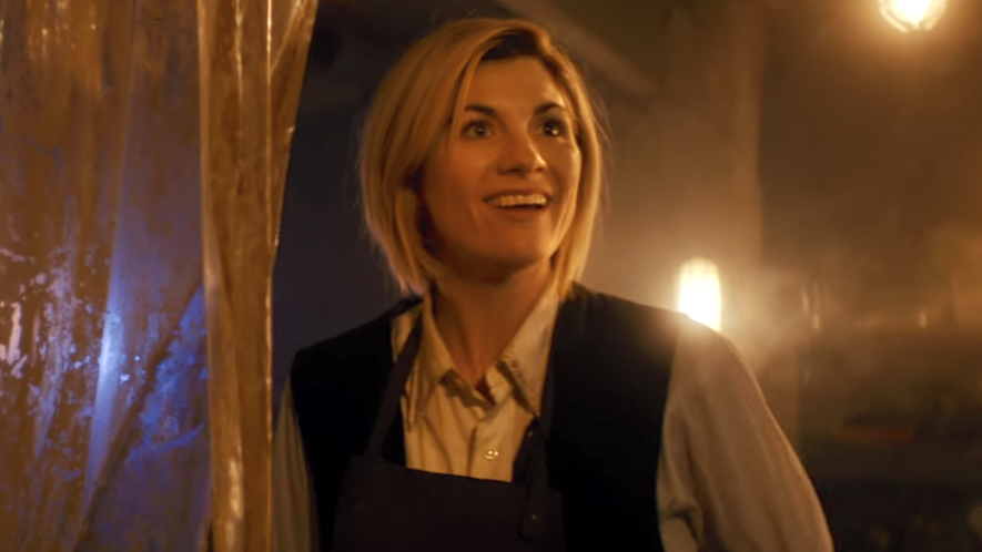 Jodie Whittaker has become the first female doctor.
