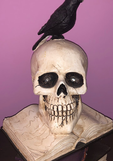 Cheep and frightening Halloween decorations can be found anywhere like Goodwill or Target.