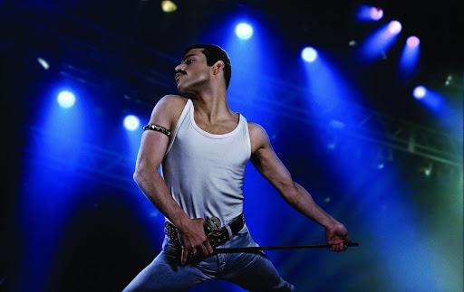 Bohemian Rhapsody was directed by Bryan Singer and Freddie Mercury is played by Rami Malek.,