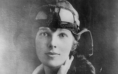 The disappearance of Amelia Earhart is one of the most popular conspiracy theories. The search for Earhart was one of the largest searches for a single person.