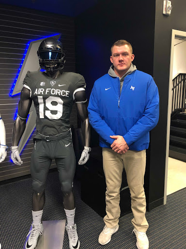 Jacob Stern put in an extreme amount of work to achieve his dream of attending the Air Force Academy.