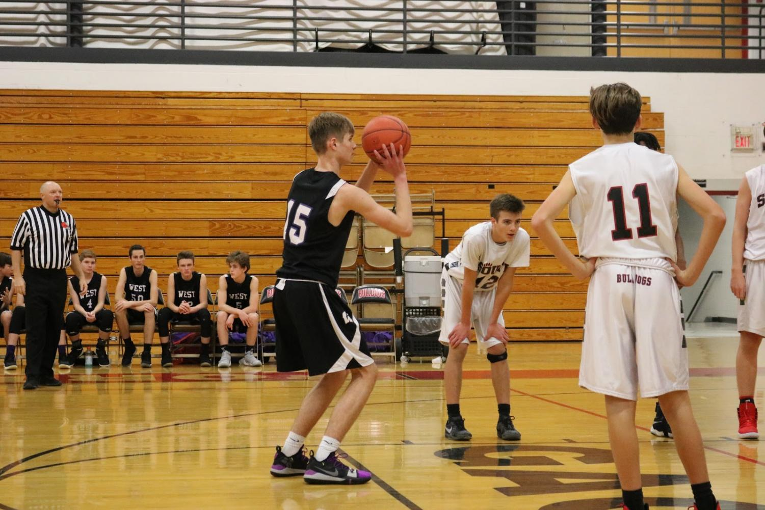 The freshman boys basketball team will play in the championship tournament against Eureka.