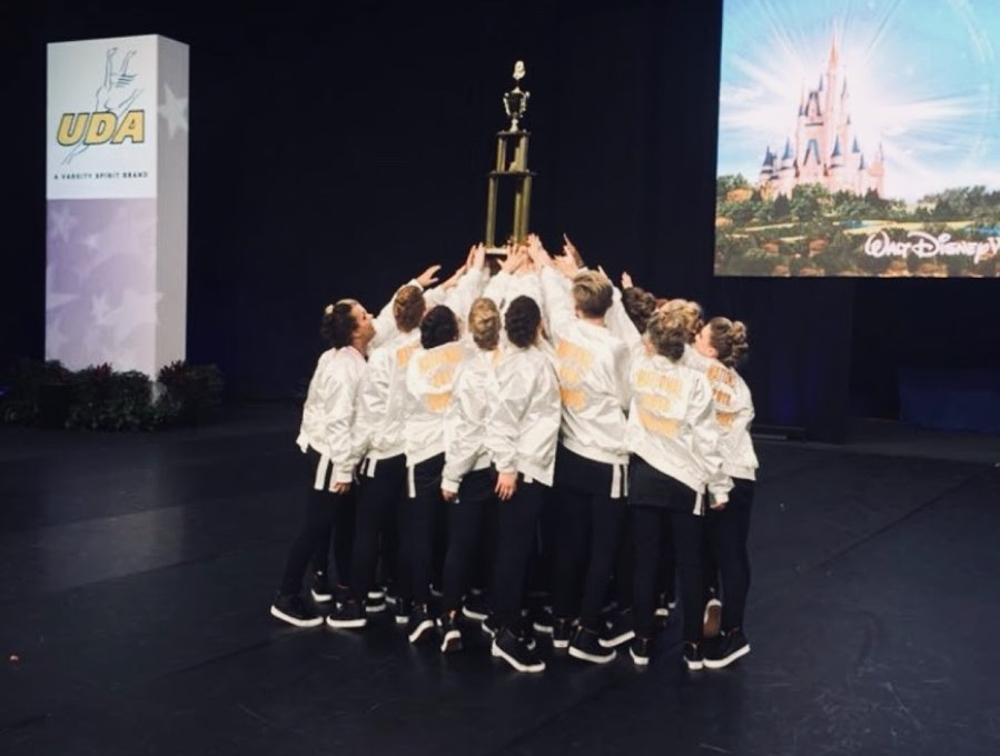The varsity dance team won first place at nationals in hip hop last year.