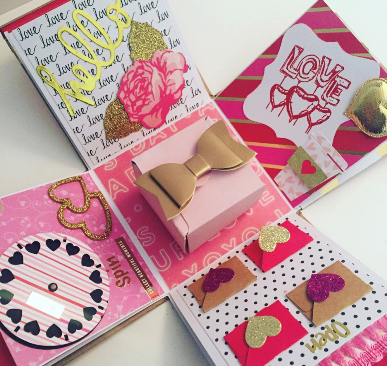 The traditional chocolate and flowers on Valentine's Day can be seen as generic but creating gifts with a personal touch will make a larger impact.