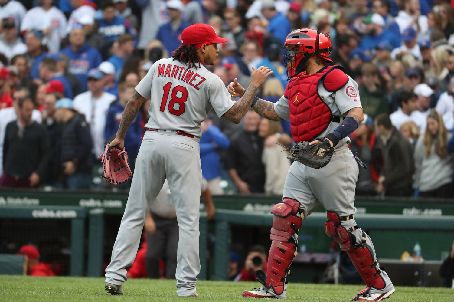The Cardinals are currently ranked at the top at 14 to nine.