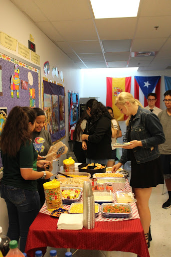 Cultures In Action members enjoy food with Latin American origins