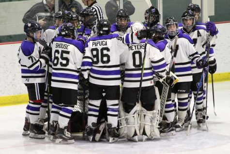 Team Fort Zumwalt West takes to the ice, hoping for the best,