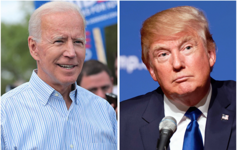 presidential candidates Joe Biden and Donald Trump