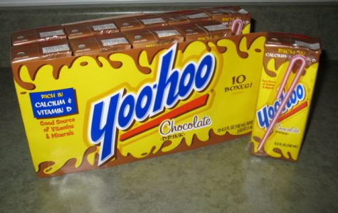 Yoo-Hoo chocolate milk, a poplar snack from  the 2000s