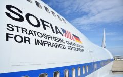 NASA's Stratospheric Observatory For Infrared Astronomy (SOFIA) was built into a Boeing 747SP-21, c/n 21441, that was originally delivered to Pan Am in 1977 as N536PA. The aircraft later served United Airlines as N145UA. In NASA service it now carried US civil registration N747NA.