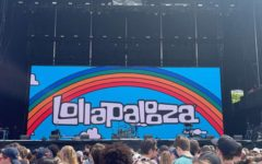 One of the stages that can be seen at Lollapalooza.