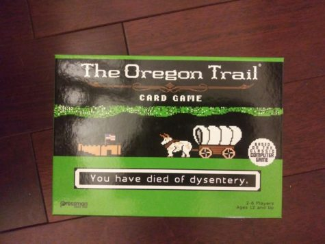 The Oregon Trail: Card Game is a fun recreation of the computer game.